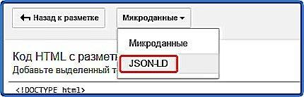 внедряем разметку json-ld на сайт